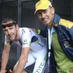 2 with Tasmanian cyclist Matt Goss