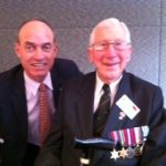 at the 70t Anniversary of Kokoda, with the last Kokoda veteran officer 26.7.12