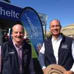 with Mark Shelton MP at Hamilton Show