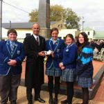 at Longford Anzac Day Ceremony 2014