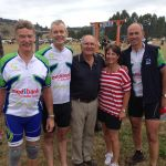 Diabetes Tasmania Pollie Pedal 2014 at Chudleigh Show